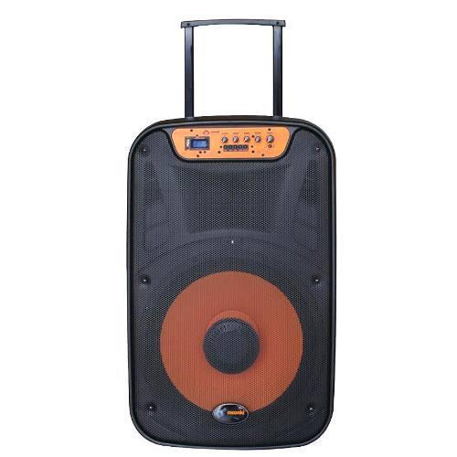 Corneta Portatil Moonki Ms115blt 1500w Usb Microfono Bagc