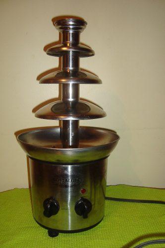 Fuente De Chocolate Industrial Nostalgia 3 Niveles