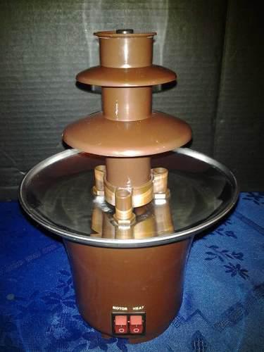 Fuente De Chocolate Pequeña 3 Niveles