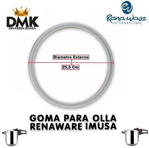 Goma Olla Rena Ware Y Imusa 6 L Importada 25,5 Cm (oferton)
