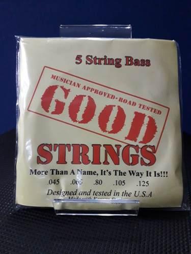 Juego De 5 Cuerdas Para Bajo Eléctrico Good