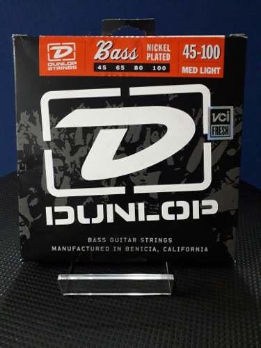 Juego De Cuerdas Para Bajo Electrico Dunlop