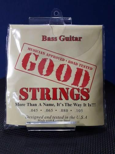 Juego De Cuerdas Para Bajo Electrico Good