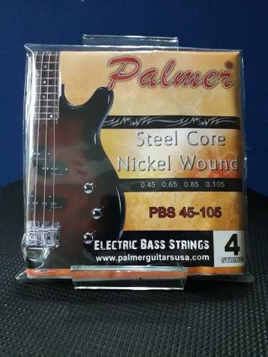 Juego De Cuerdas Para Bajo Electrico Palmer
