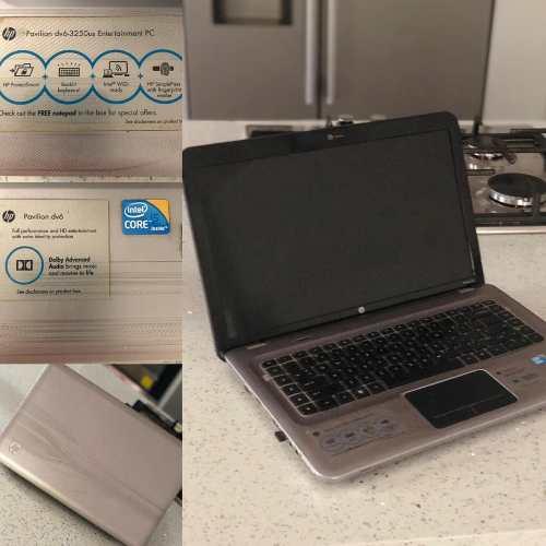Laptop Hp Pavilion 6 Icore5