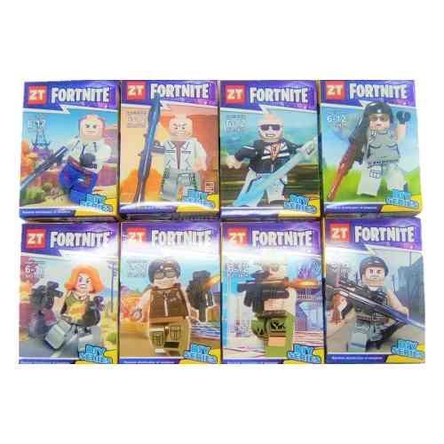 Lego Fortnite Set 8 Figuras Diferentes
