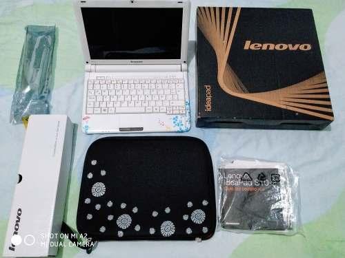 Mini Laptop Lenovo En Caja Como Nueva