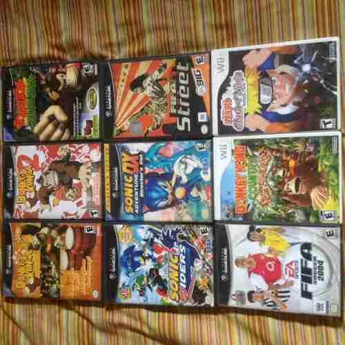 Cambio Juegos De Gamecube Y Wii