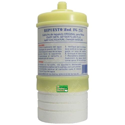 Cartuchos Carbón Estándar Fg R2 Filtros Agua Ozono