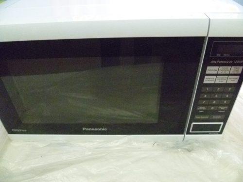 Microondas Panasonic Inverter Nn-st651w 1200w En 220 Verdes