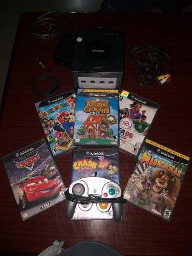 Nintendo Game Cube Con 7 Juegos