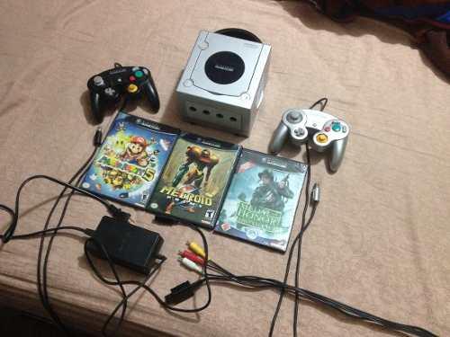Nintendo Gamecube Para Reparar O Repuestos (lector Dañado)