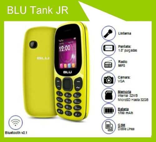 Teléfono Celular Básico Blu Tank Jr