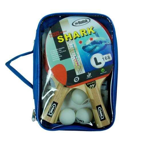 4 Raquetas 3 Pelotas Malla Paral C/estuche Para Ping Pong