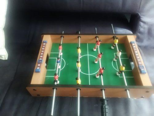Fútbol Juego De Mesa De Madera