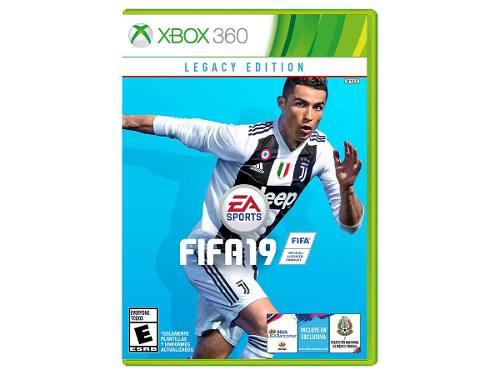 Juego Fifa 19 Para Xbox 360 Totalmente Original