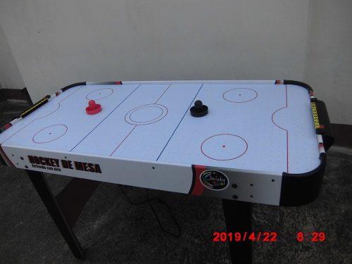 Mesa De Hockey Activado Con Aire Y De Futbolito