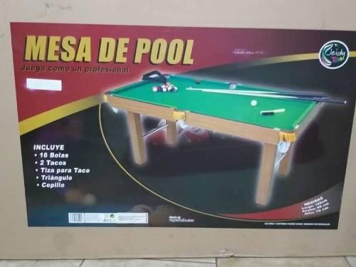 Mesas De Entretenimiento Pool Y Futbollito