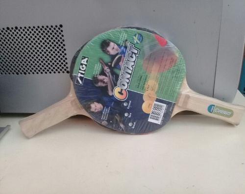 Set De 2 Raquetas De Tenis De Mesa Tiga Nuevas