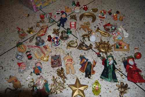 Adornos Navidad Arbol Calidad Lote Completo
