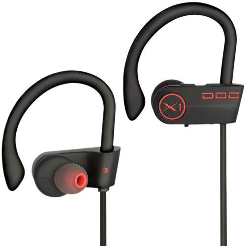 Audifonos Inalámbricos Bluetooth X1 Rojos Correr Gym Yoga