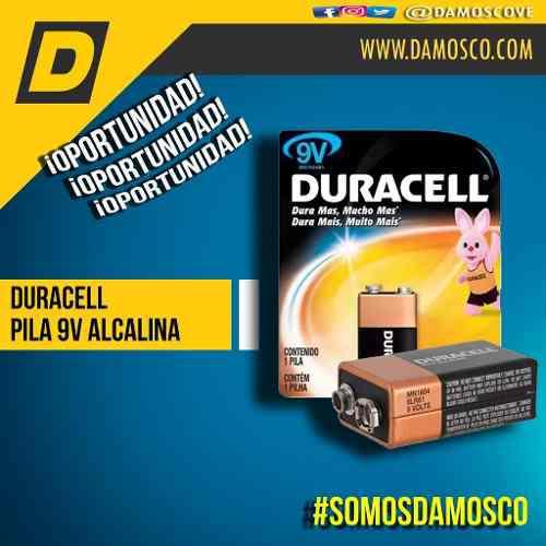 Bateria Pila 9v Alcalina Duracell O F E R T A ! ! !