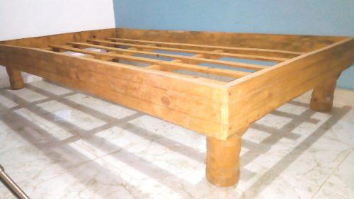 Box Individual Madera De Pino Al Natural 20$