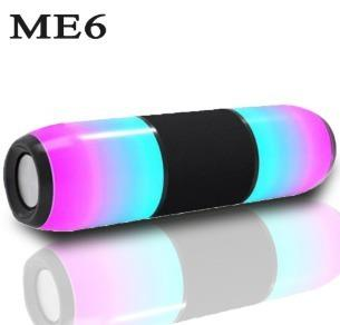 Corneta Jbl Me6 Altavoz Bluetooth De Luz Led Portátil