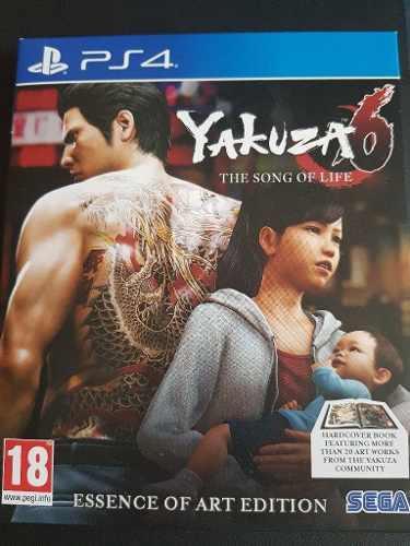 Juego Yakuza 6 Art Edition Ps4 Fisico Sellado Ps4