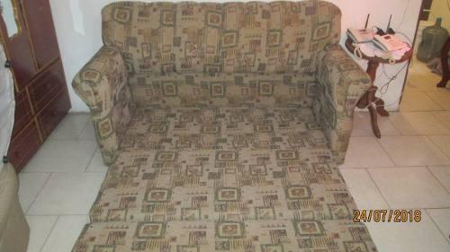Sofa Cama Matrimonial En Tela