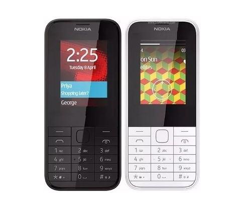 Doble Sim Telefono Celular Nokia 225 Camara Flash *15*
