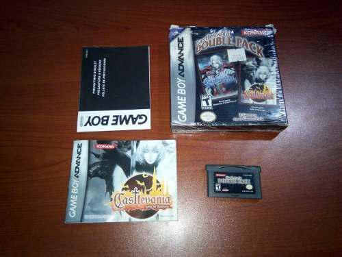 Nintendo Game Boy Advance Castlevania Double Pack