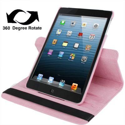 Para iPad Mini 1 2 3 Protector Funda Cuero Rotacion Dthm