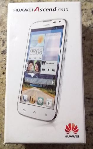 Solo Caja De Cartón Para Teléfono Celular Huawei Ascend