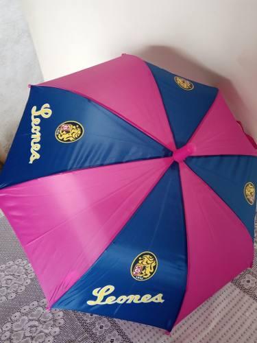 Sombrilla Paraguas Para Niña De Los Leones Del Caracas