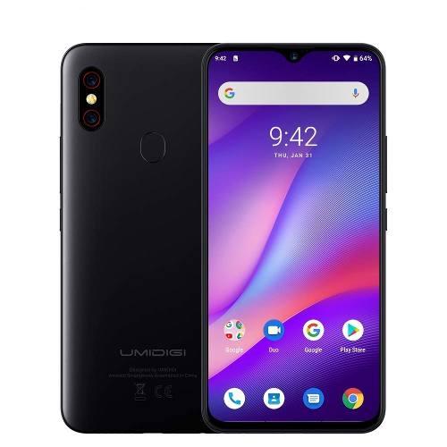 Telefono Celular Umidigi F1 Helio P60 4gb Ram 128gb Negro