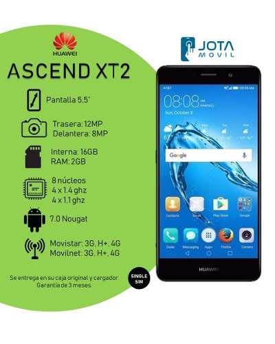 Telefono Huawei Ascend Xt2 1.4ghz 2gb Ram 16gb (140 Vrds)
