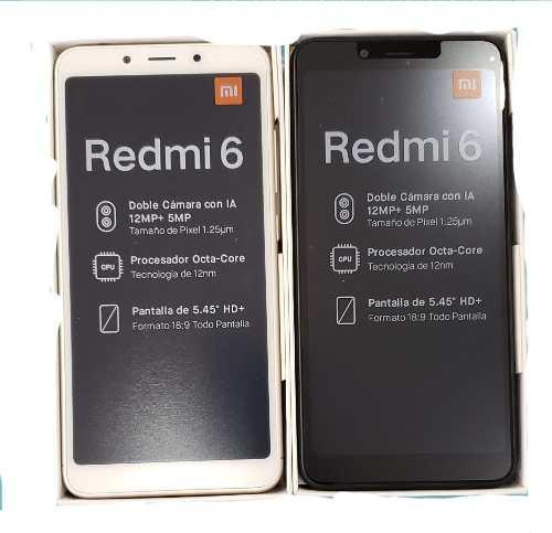 Telefono Xiaomi Redmi 6 32gb Somos Tienda Fisica