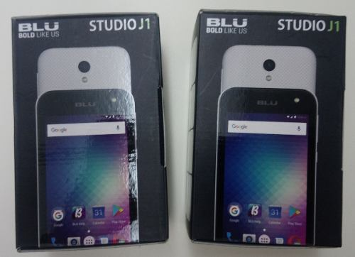 Teléfono Celular Blu Studio J1 Dual Sim Android 6.0, Nuevos