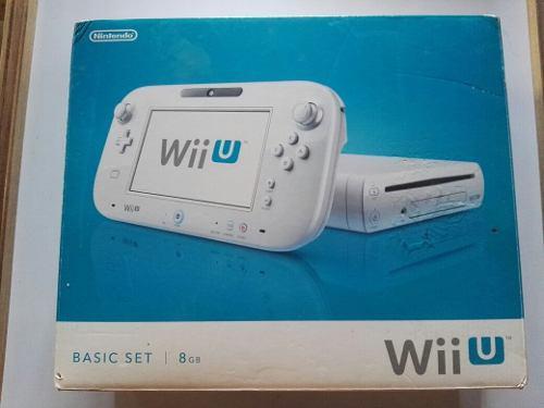 Wii U De 8 Gb En Perfectas Condiciones