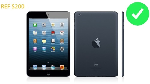 iPad Mini Apple 16 Gb Negra Wifi Nueva Sellada (200t)