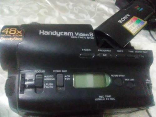 Camara Handycam Video 8 Tr-670 Color View Finder. 48x