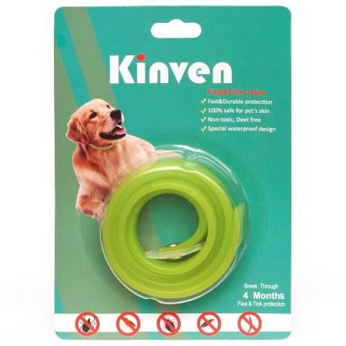 Collar Antipulgas Y Garrapatas Para Perros Y Gatos. 60 Cm.