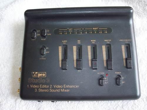 Editor De Audio Y Videos Studio 3.marca Vidpro. 200 Mil Bs.