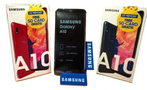 Samsung Galaxy A10 32gb 2gb Ram 13 Mp Dual Sim Sm A105mds
