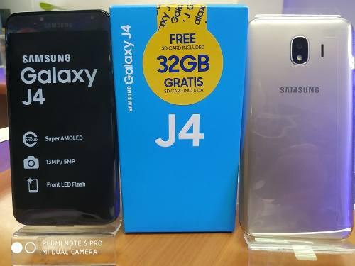 Samsung Galaxy J4 De 32 Gb. (Incluye Micro Sd De 32 Gb).