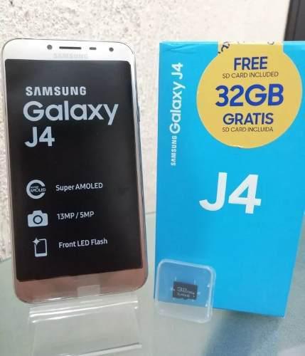 Samsung Galaxy J4 Liberado 32gb + Micro Sd 32gb Gratis!!