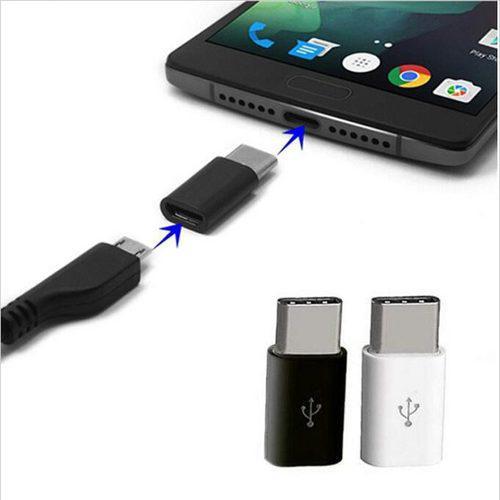 3 Adaptadores Micro Usb A Tipo C Samsung S8 Huawey Y Otros