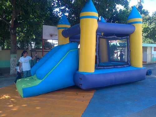 Castillo Inflable 3 X 3 Con Tobogan