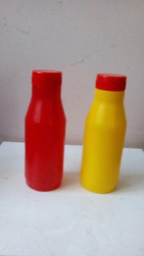 Envases Plasticos En Pp Para Salsas, Con Tapa Roscada Flip